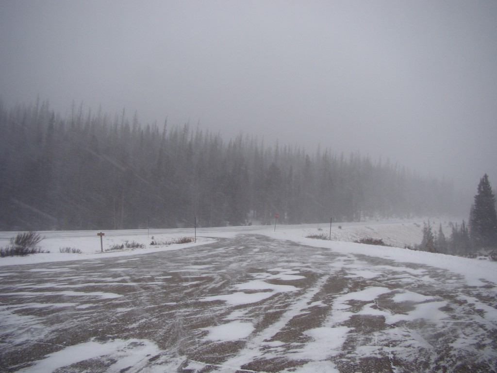 Cameron Pass Parking Lot