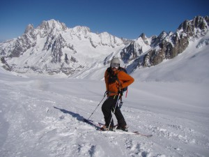 The Vallee Blanche is a must do for anyone with glacier experience