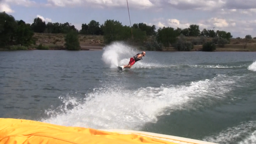 Wakeboarding on Standley Lake
