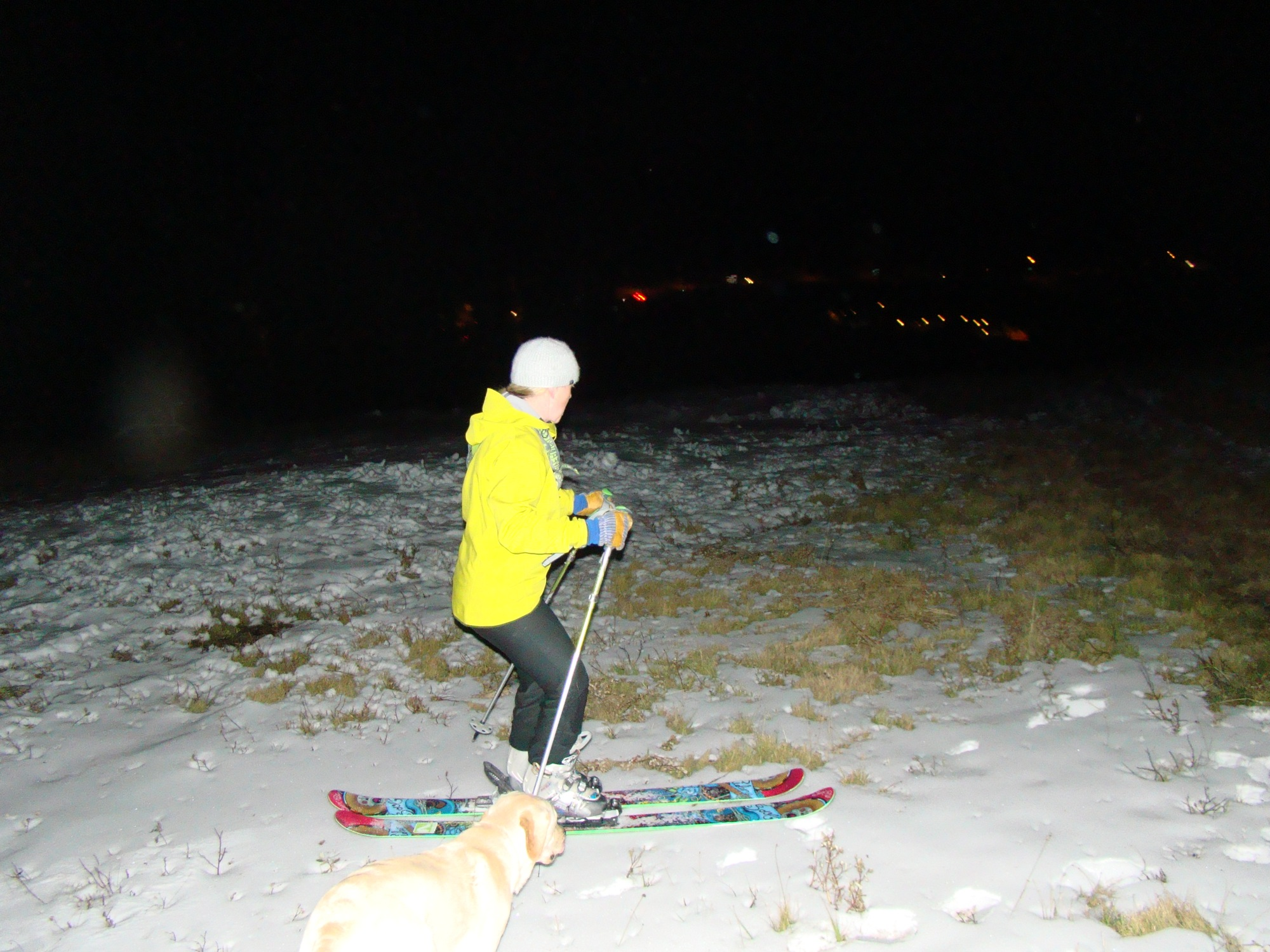 The Joys of Night Skiing Without a Headlamp