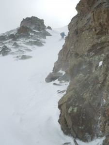 Steep Couloirs in Flora Creek